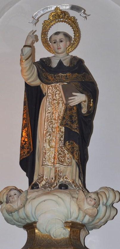 La imagen de Sant Vicent de L'Eliana.