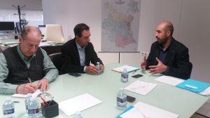 El Diputado de Carreteras traslada a los alcaldes afectados el que la Diputación de Valencia estamos trabajando con el Ministerio la búsqueda de una solución que mejore la seguridad vial en la intersección.