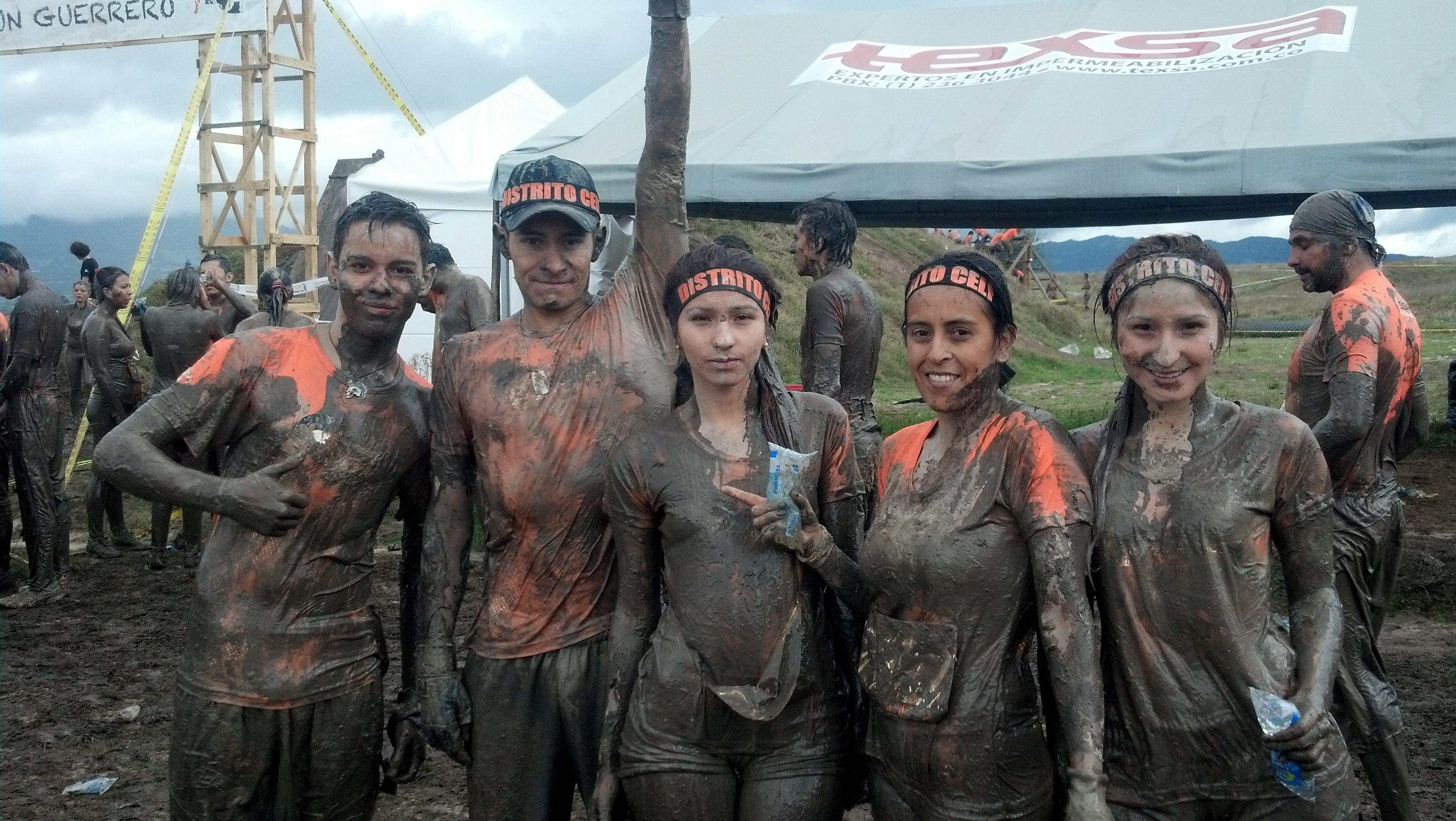 Participantes en una de las ediciones anteriores del desafío «guerreros».