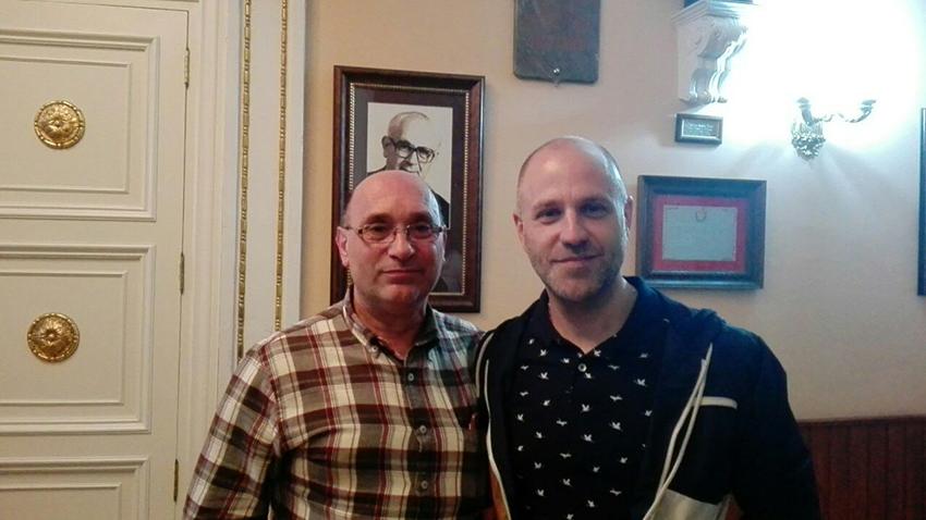Enrique Piera y Francisco Blasco.