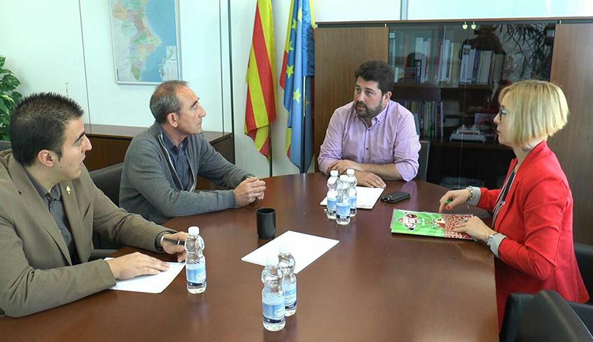 Reunión mantenida con Natxo Costa, director General de Comercio de la Generalitat Valenciana.
