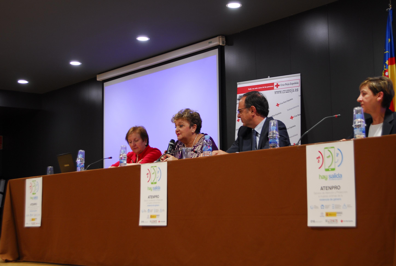 La diputada de Bienestar Social, Mercedes Berenguer, durante su participación en las jornadas.