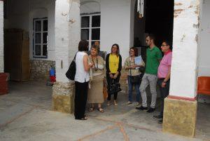 Mercedes Berenguer ha visitado el Centro Ocupacional de Villar del Arzobispo.