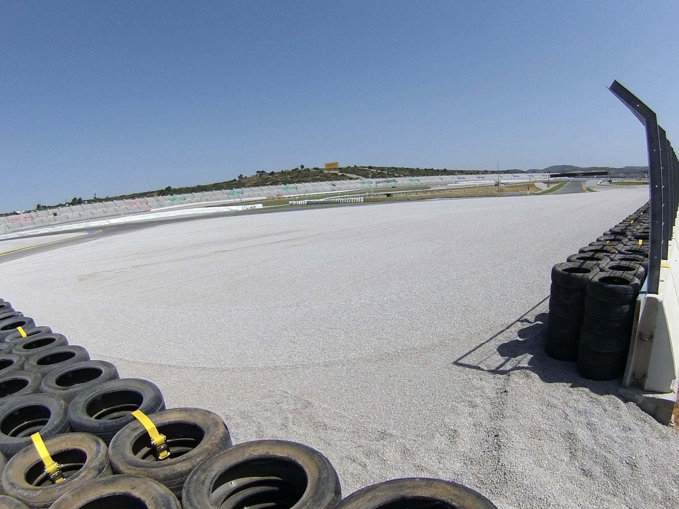 El Circuit Ricardo Tormo ha renovado sus áreas de seguridad.