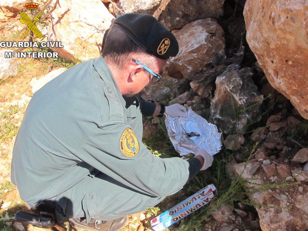 Los agentes se incautaron de diversas sardinas que contenían en su interior un compuesto de gran toxicidad.