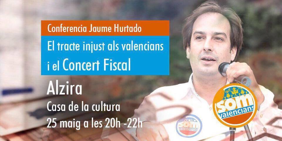 El secretario general de Som Valencians, Jaume Hurtado.