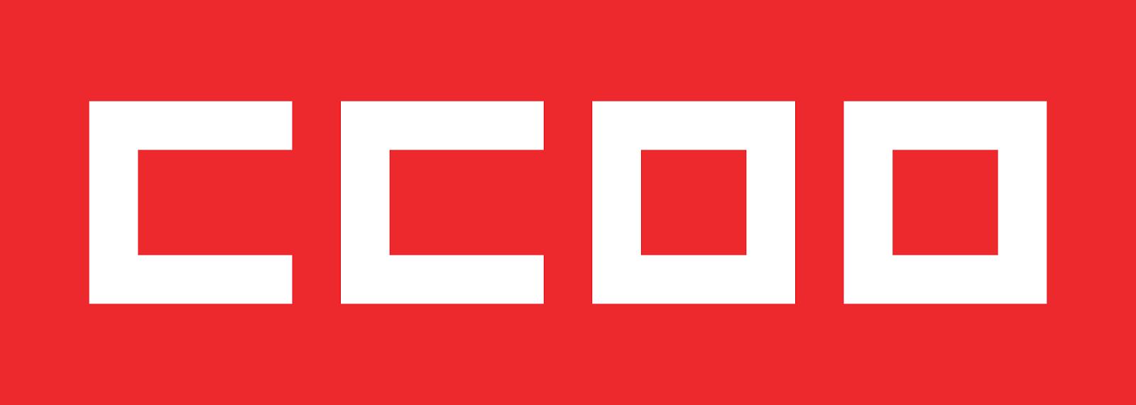 Logotipo del sindicato Comisiones Obreras.