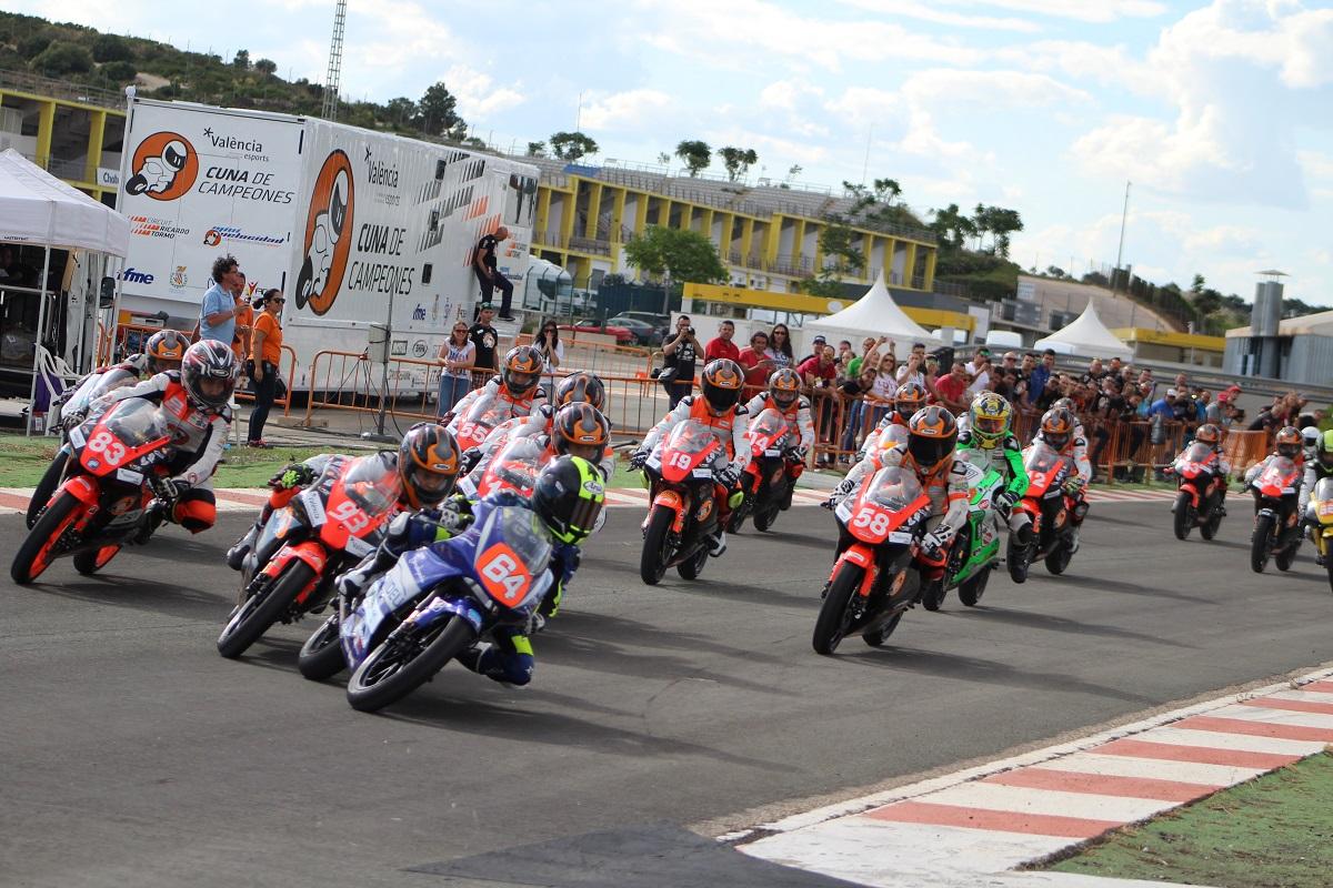 En Minimotos Máximo Martínez por partida doble y Alex Longarela se alzan con las victorias. Marco García hace triplete en MiniGP 110. En PromoGP 220 Iván Morillas consigue tres victorias en las tres carreras. Alberto Ferrández triunfa en Moto5 al llevarse la victoria en las tres mangas.