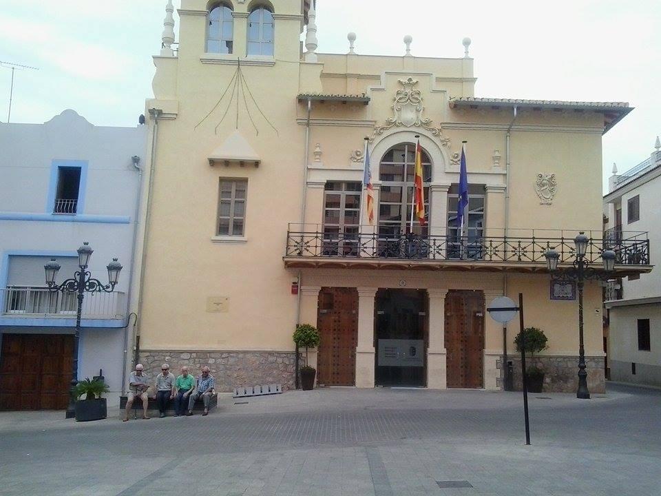 Casa consistorial de la localidad de Riba-roja del Túria.