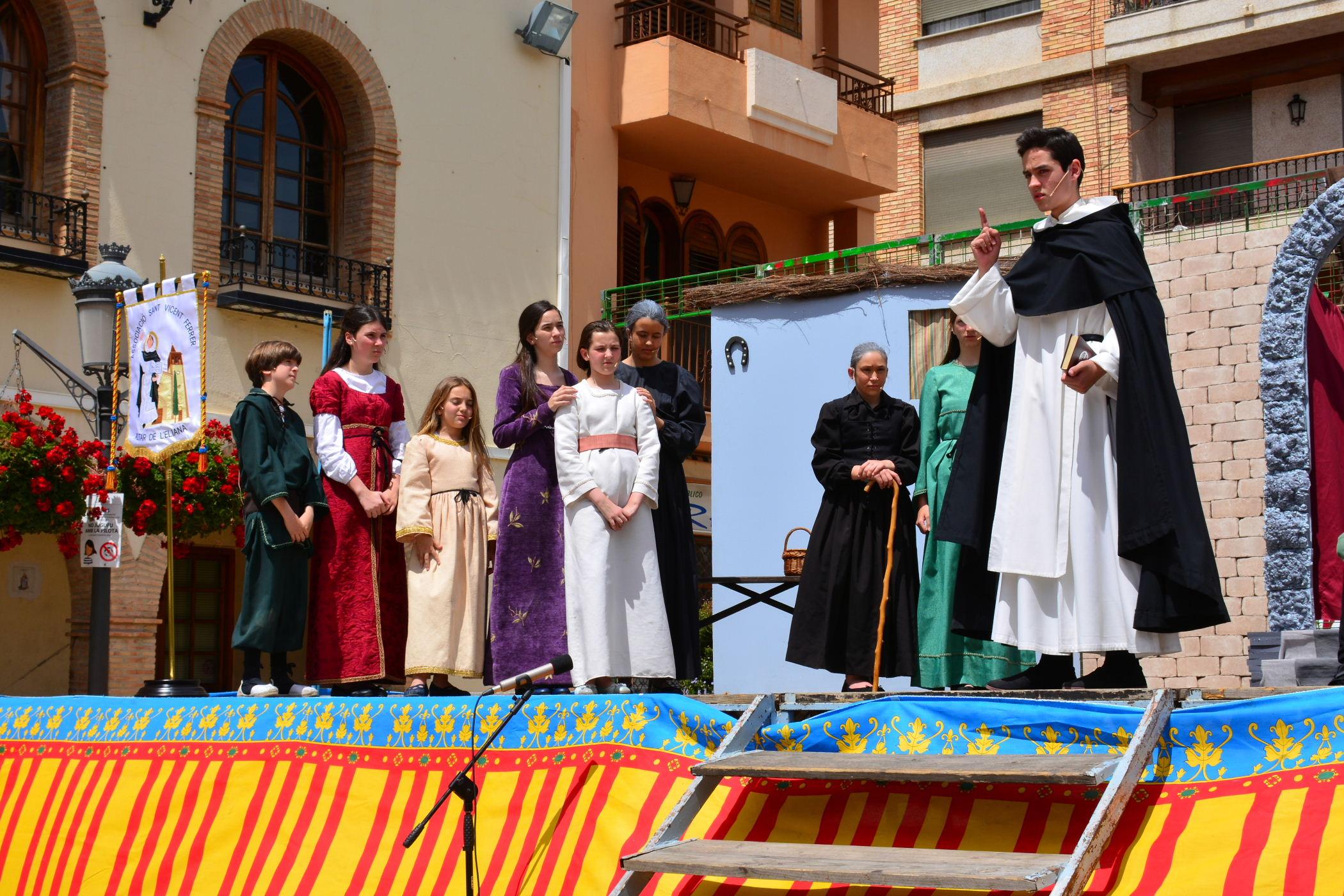 Las fiestas de San Vicente en L'Eliana han acabado con gran éxito de público.