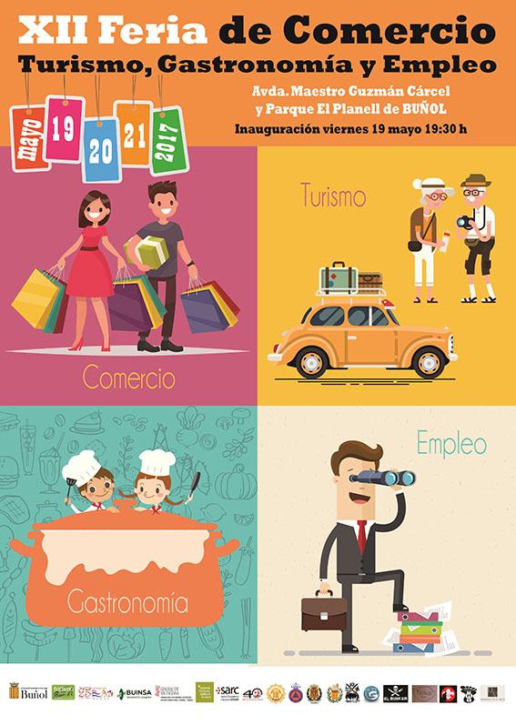Talleres, exhibiciones, degustaciones gastronómicas, espectáculos, conciertos y mucho más te esperan del 19 al 21 de mayo en la explanada del Planell de Buñol.