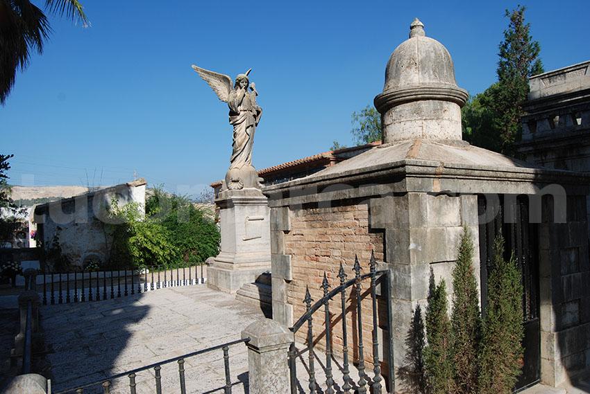 Una imagen del cementerio de Buñol.