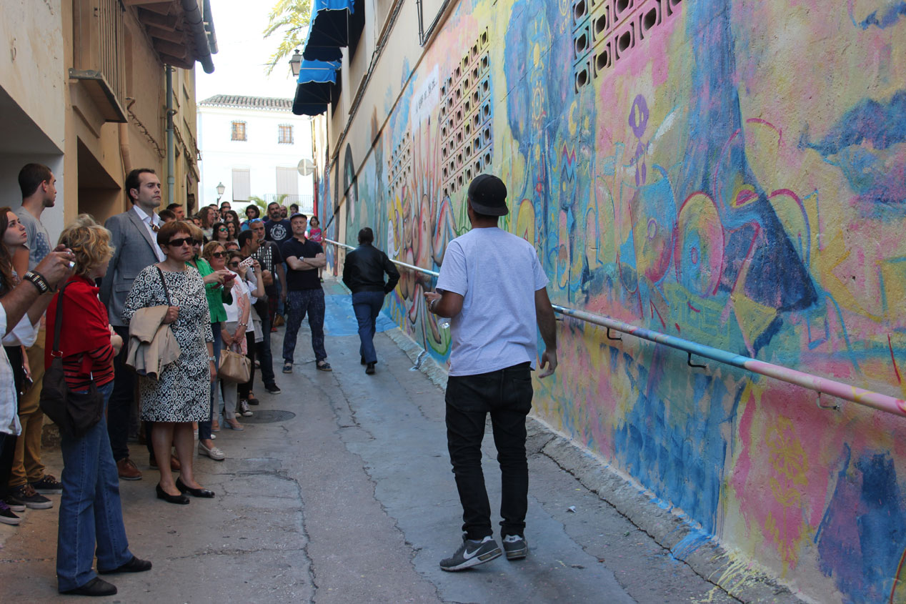 Este fin de semana se ha celebrado en Cheste el festival de arte de urbano Graffitea.