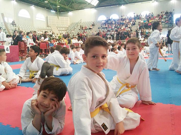 Los jóvenes, pertenecientes al club Yoshitaka, pasaron la segunda ronda