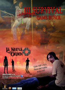 El III Survival Zombie Buñol está cada día más cerca. El sábado 1 de julio por la noche Buñol será invadido por una colonia de zombies y supervivientes.