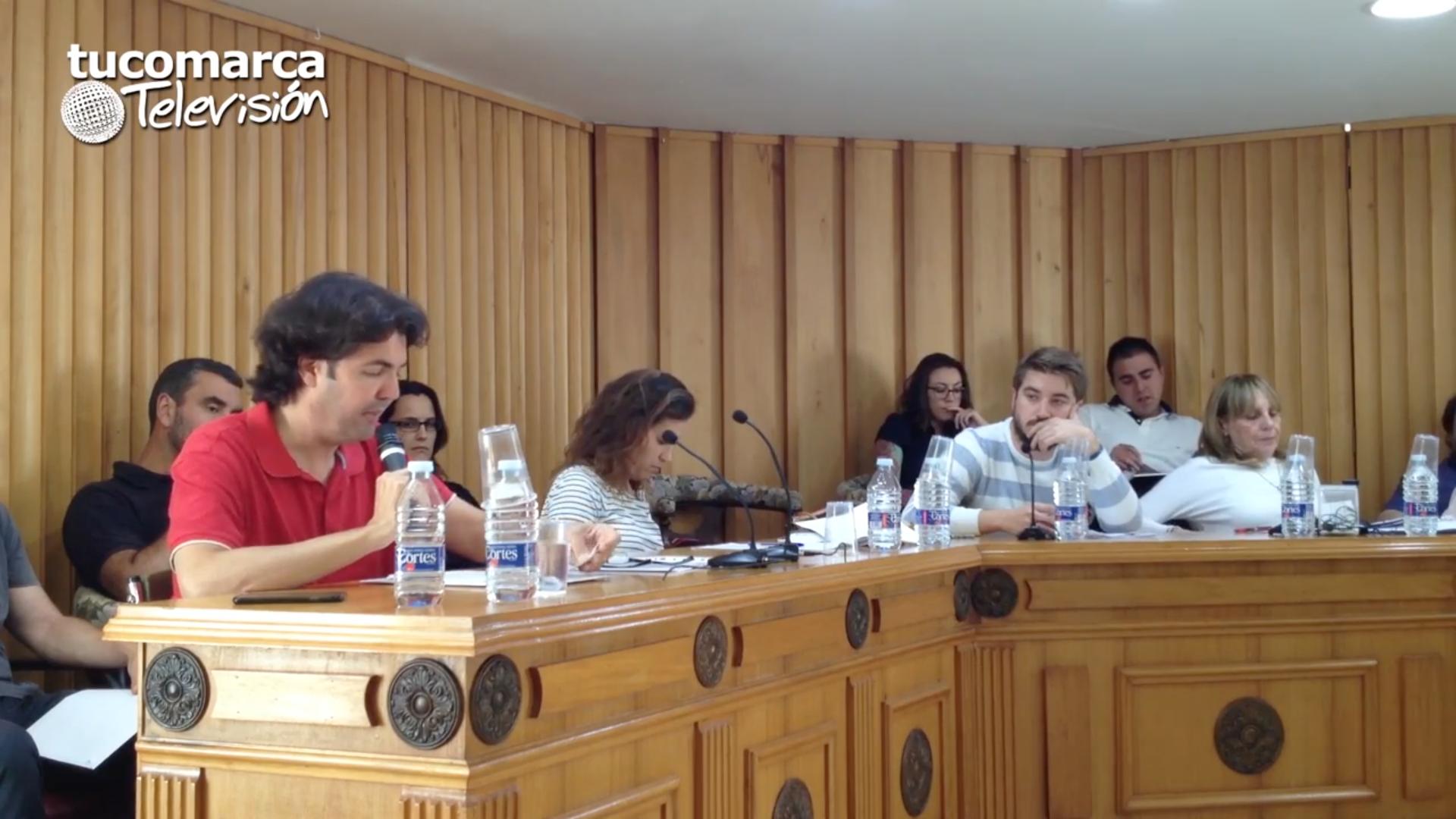 Pleno extraordinario donde se ha abordado la Declaración de Patromonio Inmaterial de la Humanidad de La Tomatina.