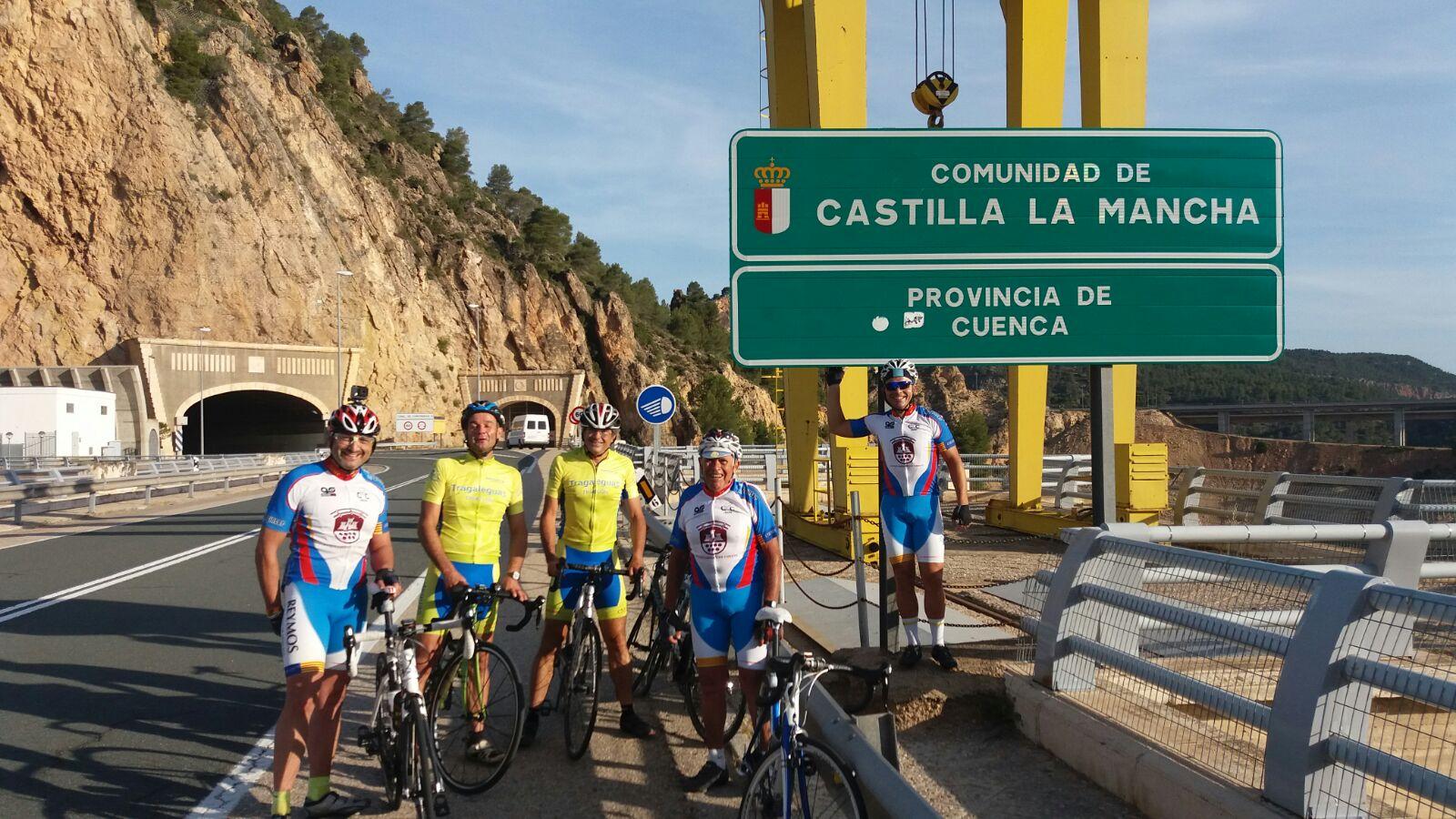 El Club Ciclista realizó el pasado sábado 10 de junio la ruta Cheste-Madrid.