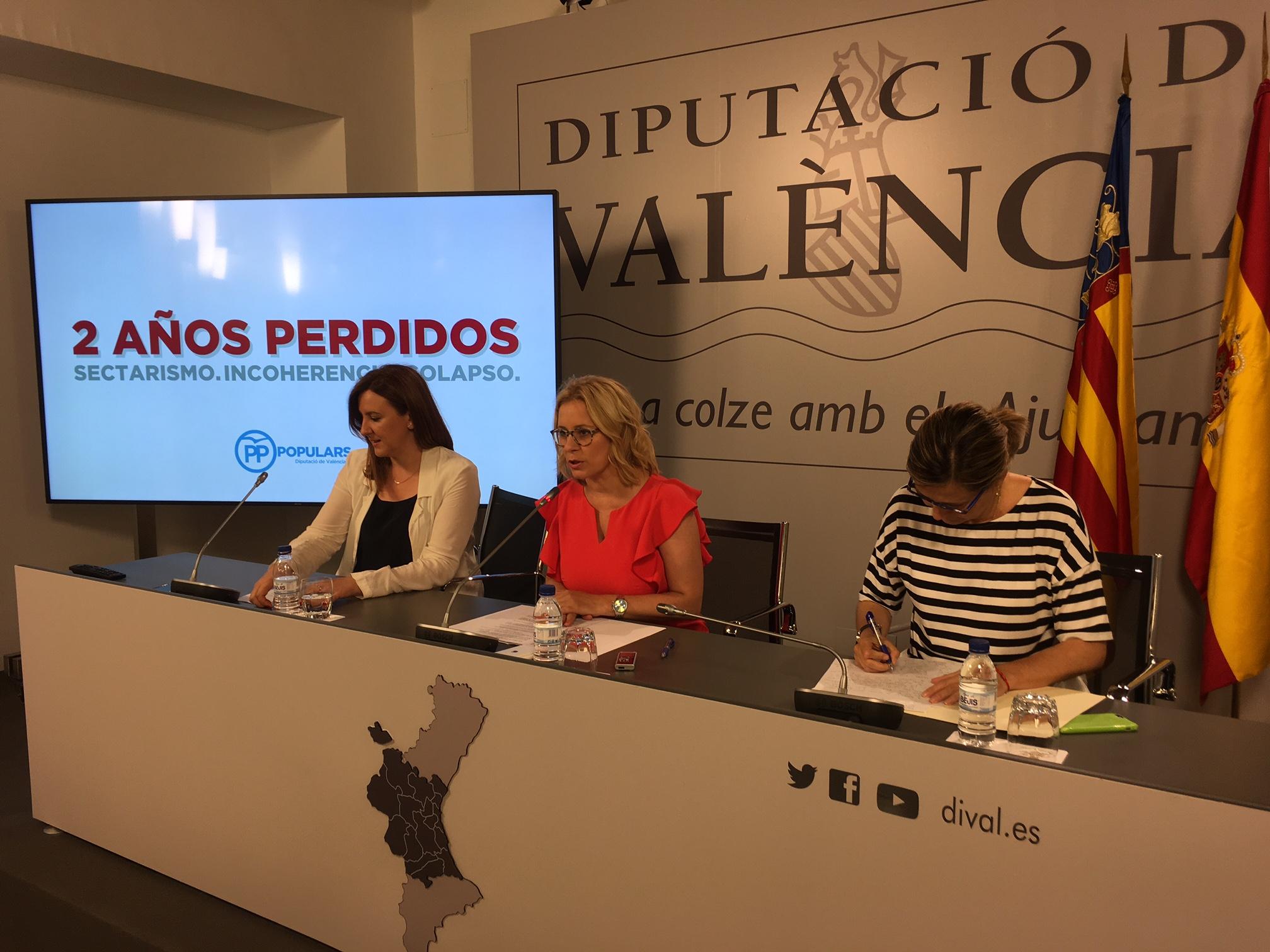 Bastidas reclama al Consell una inversión de 100 millones en infraestructuras en la provincia de Valencia tales como colegios, centros de salud y carreteras.