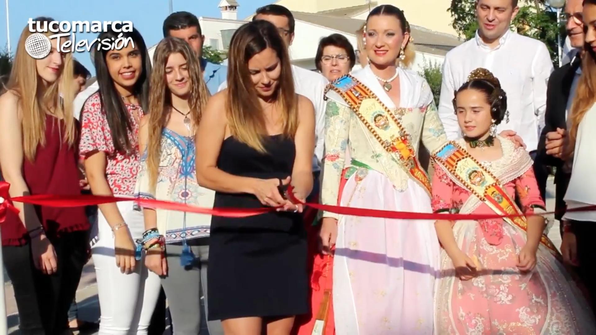 Inuguración de la octava edición de la Feria de Turismo, Artesanía y Gastronomía de Yátova.