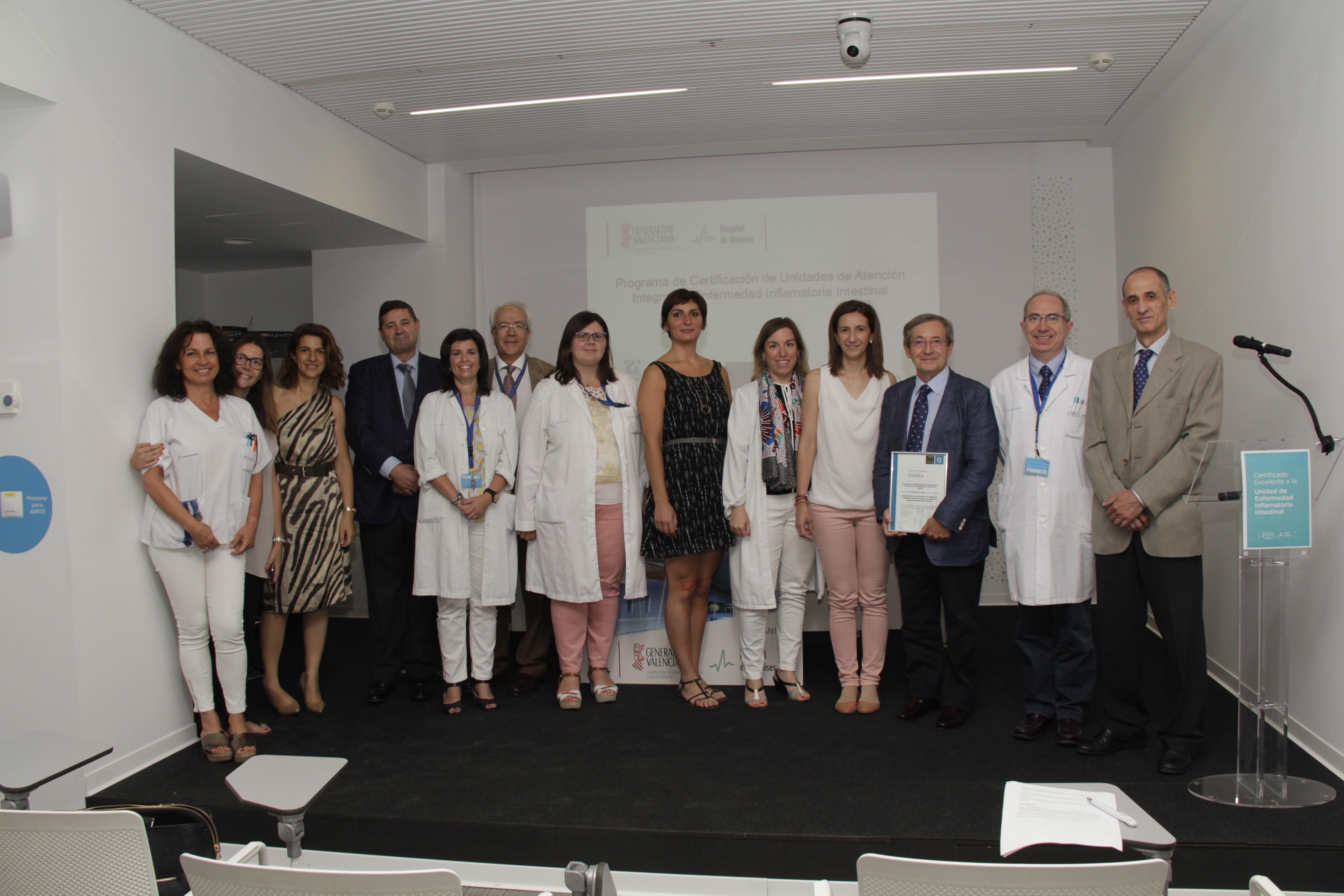 El reconocimiento ha llegado tras haber superado una exhaustiva evaluación de la Fundación Ad Qualitatem realizada con los indicadores del Grupo Español de Trabajo en Enfermedad de Crohn y Colitis Ulcerosa.