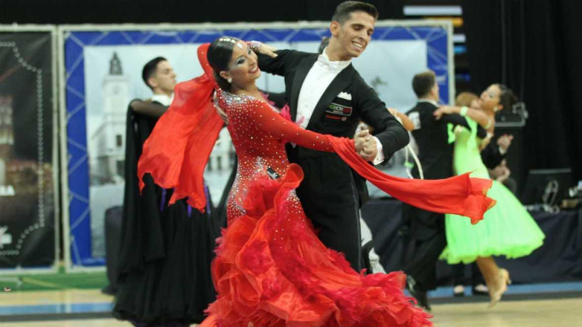 Competición de Baile Deportivo en L'Eliana.