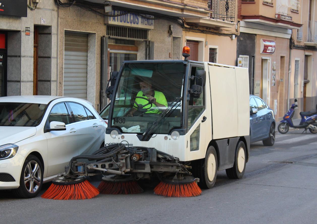 La Pobla de Vallbona pagarà la neteja viària en funció de la qualitat del servei.