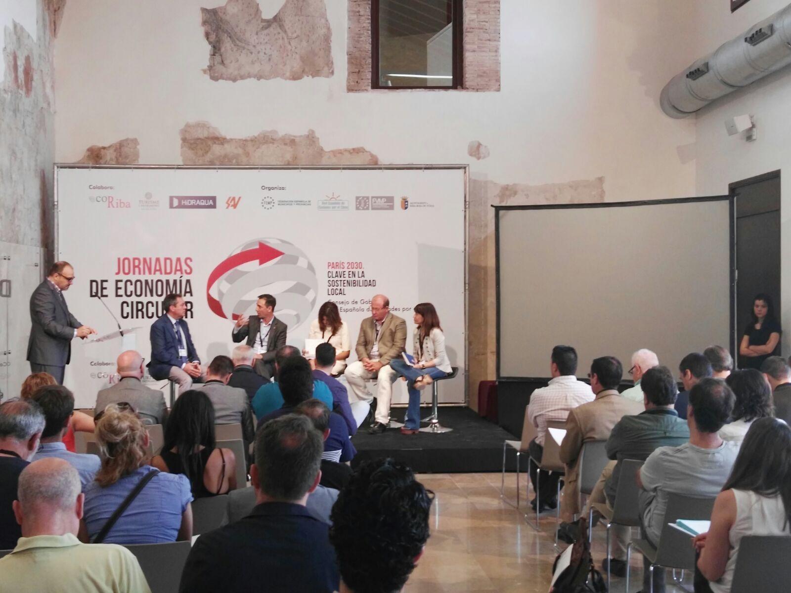 El ayuntamiento ha presentado el proyecto en la jornada sobre economía circular realizada en la localidad.
