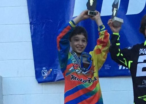 El joven piloto buñolense Vicente Galarza se ha proclamado subcampeón de España.