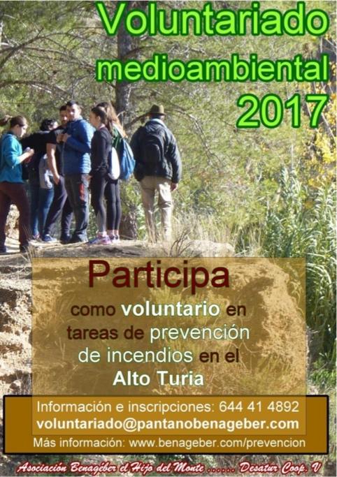 Los participantes de este proyecto piloto se encargarán de la vigilancia, especialmente contra incendios, en una zona de 1.000 hectáreas en el Alto Turia valenciano.