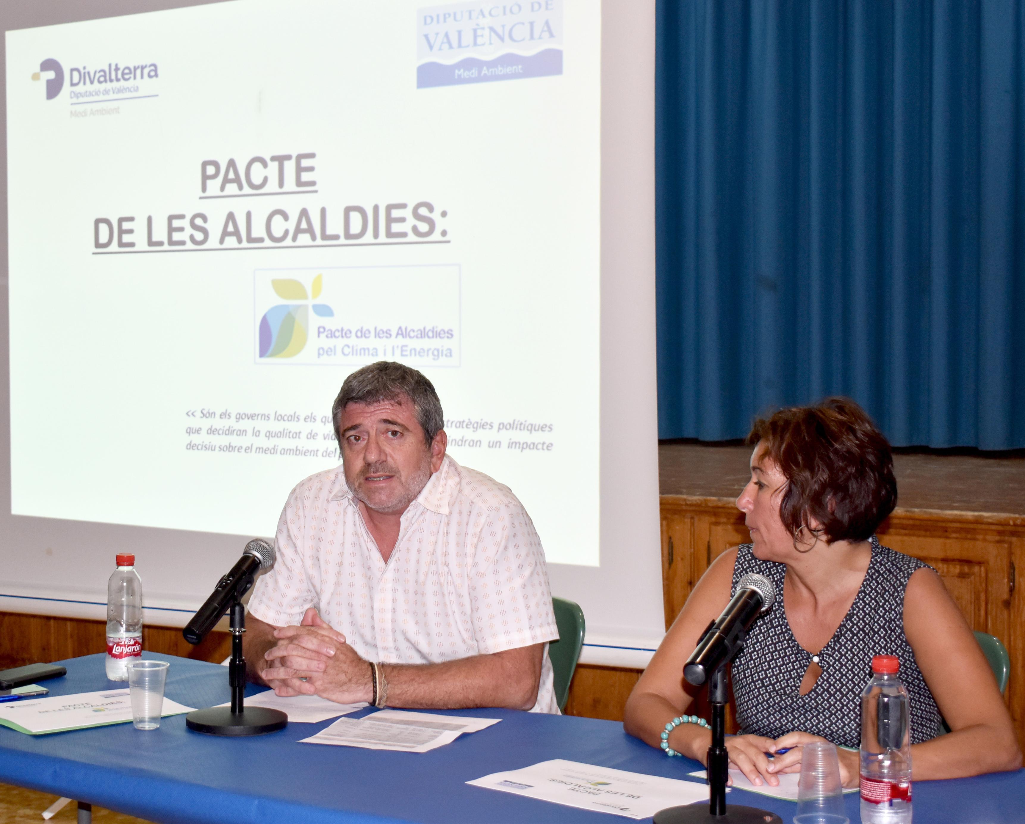 El diputado de Medio Ambiente, Josep Bort, anuncia que el proceso de recopilación de datos comenzará en los municipios adheridos al Pacto en la Ribera Alta y la Ribera Baja.