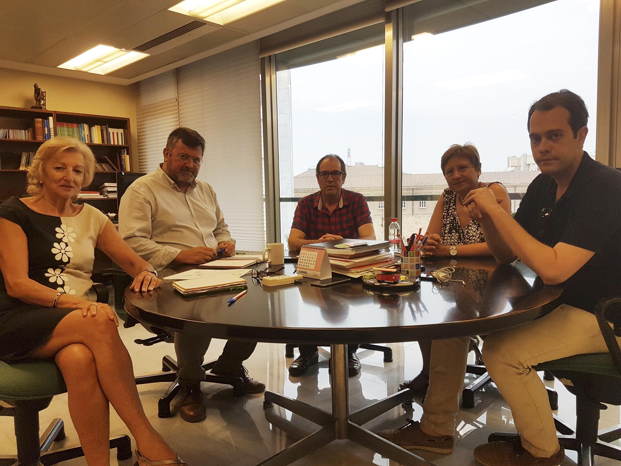 El Gobierno de Cheste se ha reunido con el Director General de Asistencia Sanitaria y con la Directora General de Alta Inspección Sanitaria.