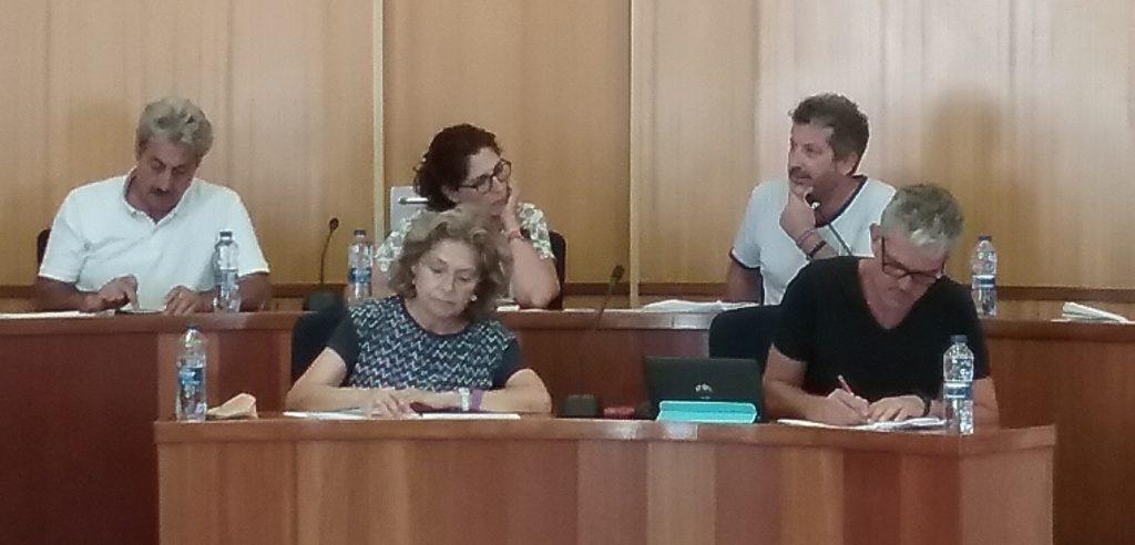 Concejales de Plataforma GuanyemSAB Compromís.