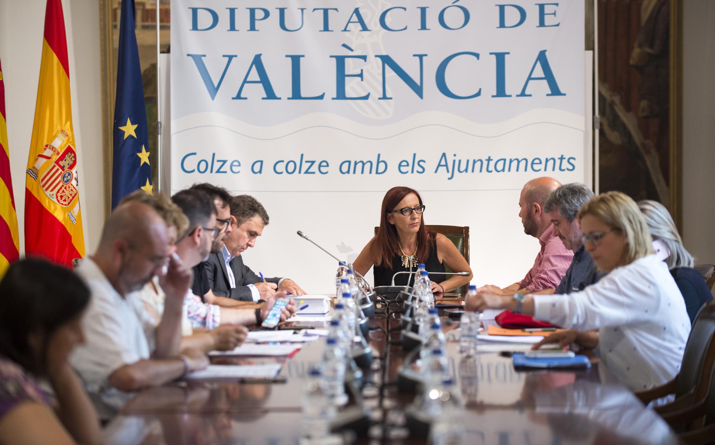 Junta de Gobierno de la Diputación Provincial de Valencia.