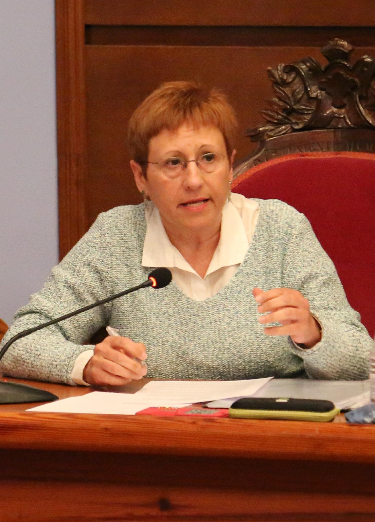 La edil de Servicios Sociales de Cheste, Mª Ángeles Llorente.
