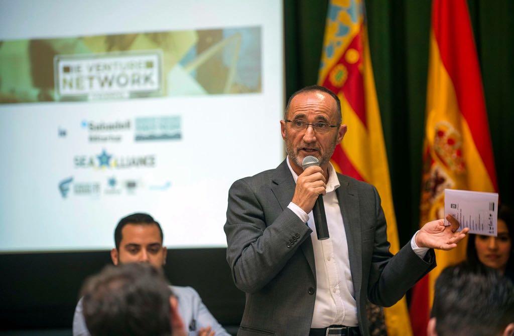 El diputado Bartolomé Nofuentes durante la presentación del programa de Gestión del Talento.