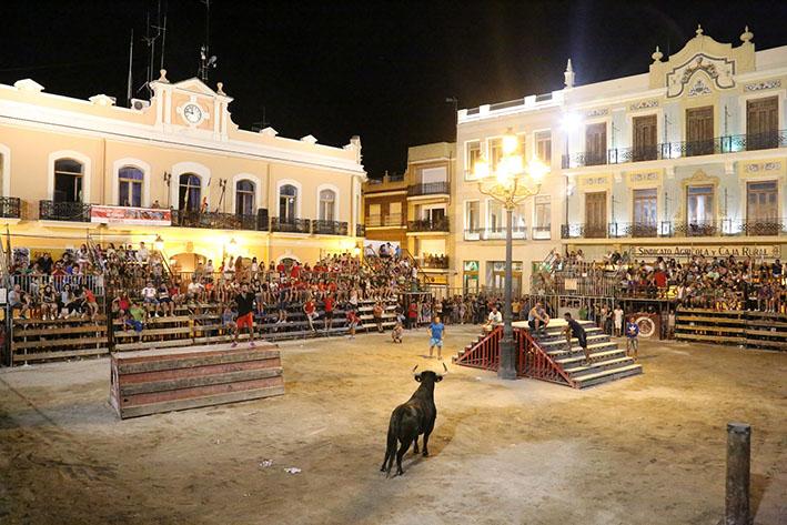 Este semana los toros toman las calles de Cheste en la Semana de la Peña Taurina.