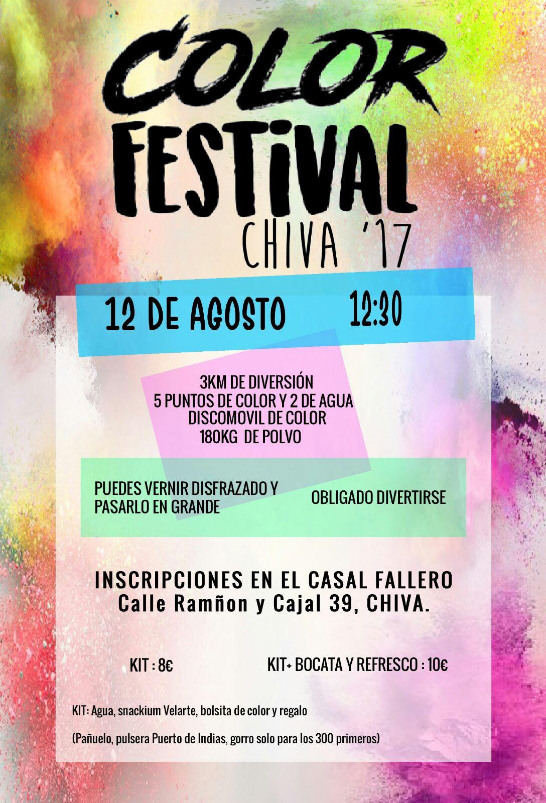 Color Festival Chiva '17.