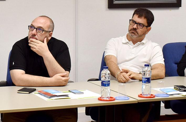 Emili Altur y Josep Melero.