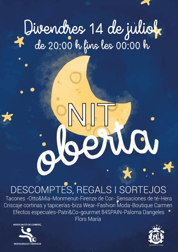 Tras la buena acogida que tuvo la primera 'Nit Oberta', celebrada en junio, ahora Viu l'Eliana vuelve a promover las compras en nuestro municipio, a través de esta segunda 'Nit oberta'.