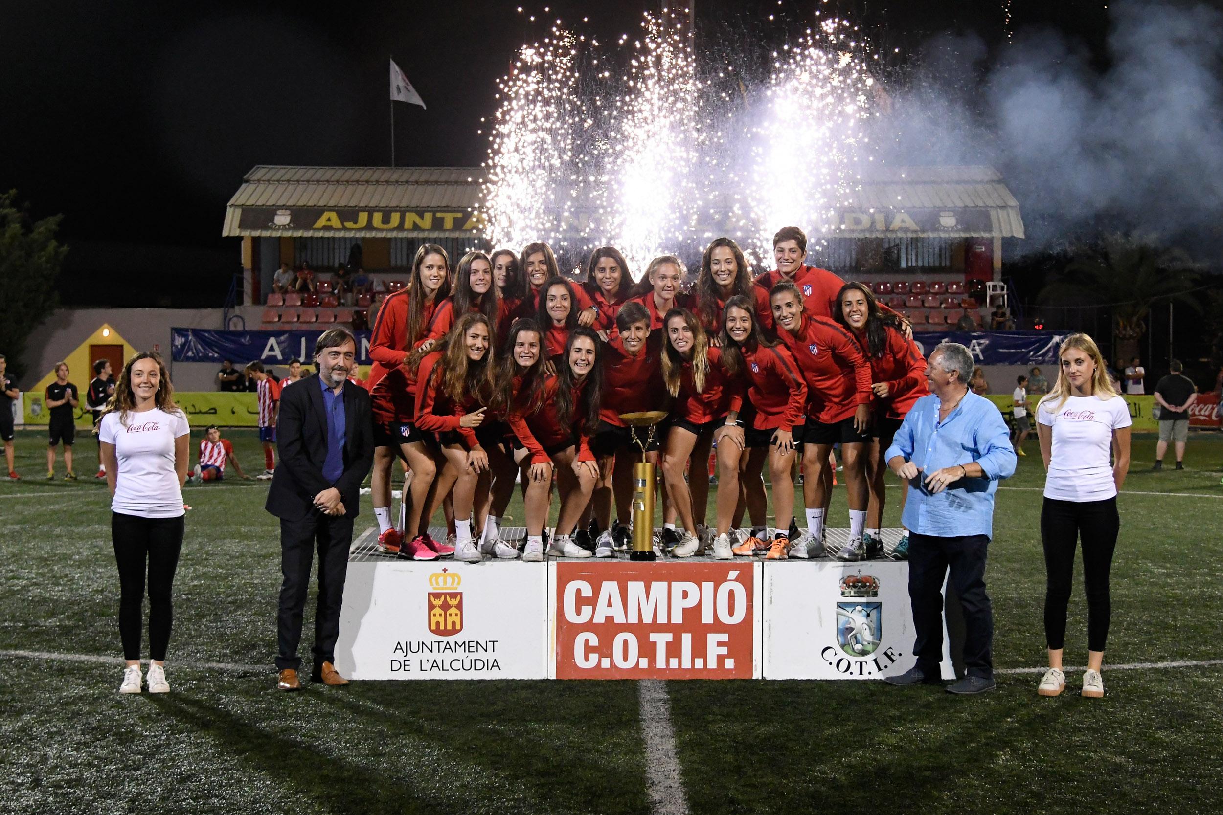 Primer equip classificat Atlético de Madrid.