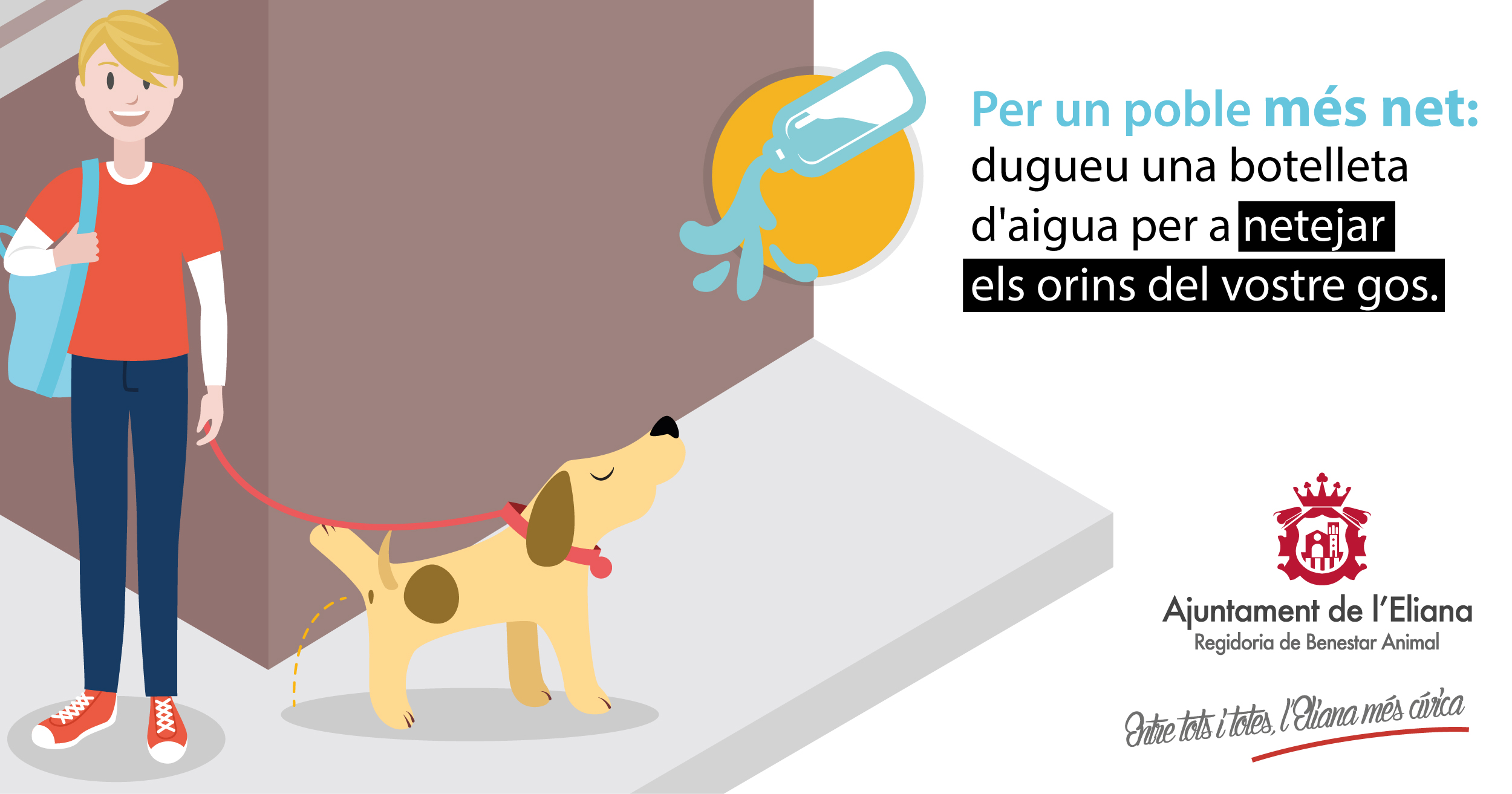El objetivo principal de esta acción radica en eliminar los olores provocados por el orín de las mascotas.