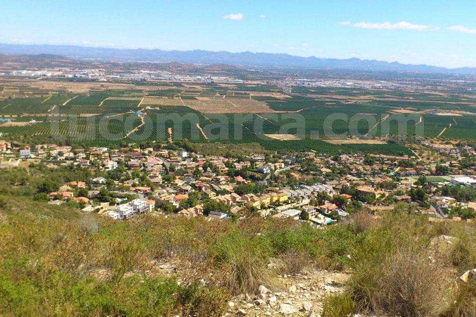 Una imagen de la urbanización de Calicanto, ubicada en el término municipal de Chiva.