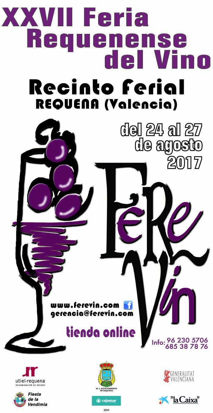 La feria se celebrará del 24 al 27 de agosto de 2017 en el Recinto Ferial.