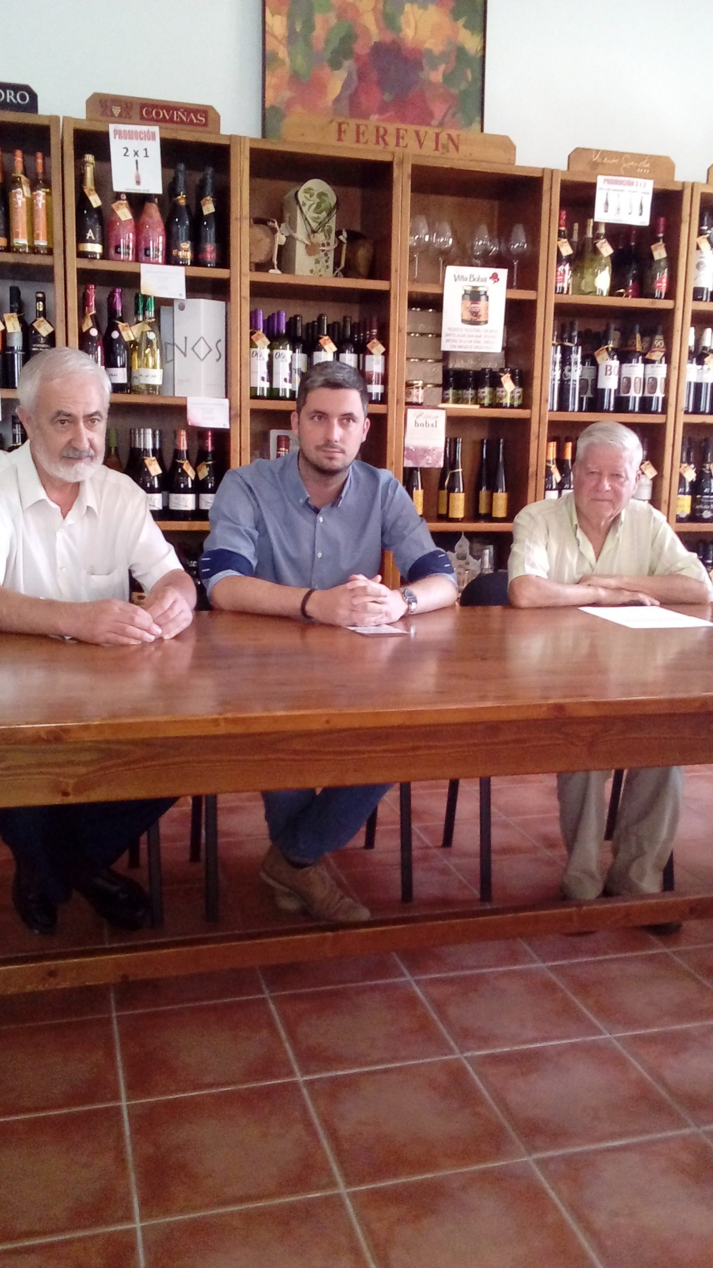 En el acto participaron José Camilo Chirivella, Álvaro Pérez, María José Arroyo y Félix Cuartero.