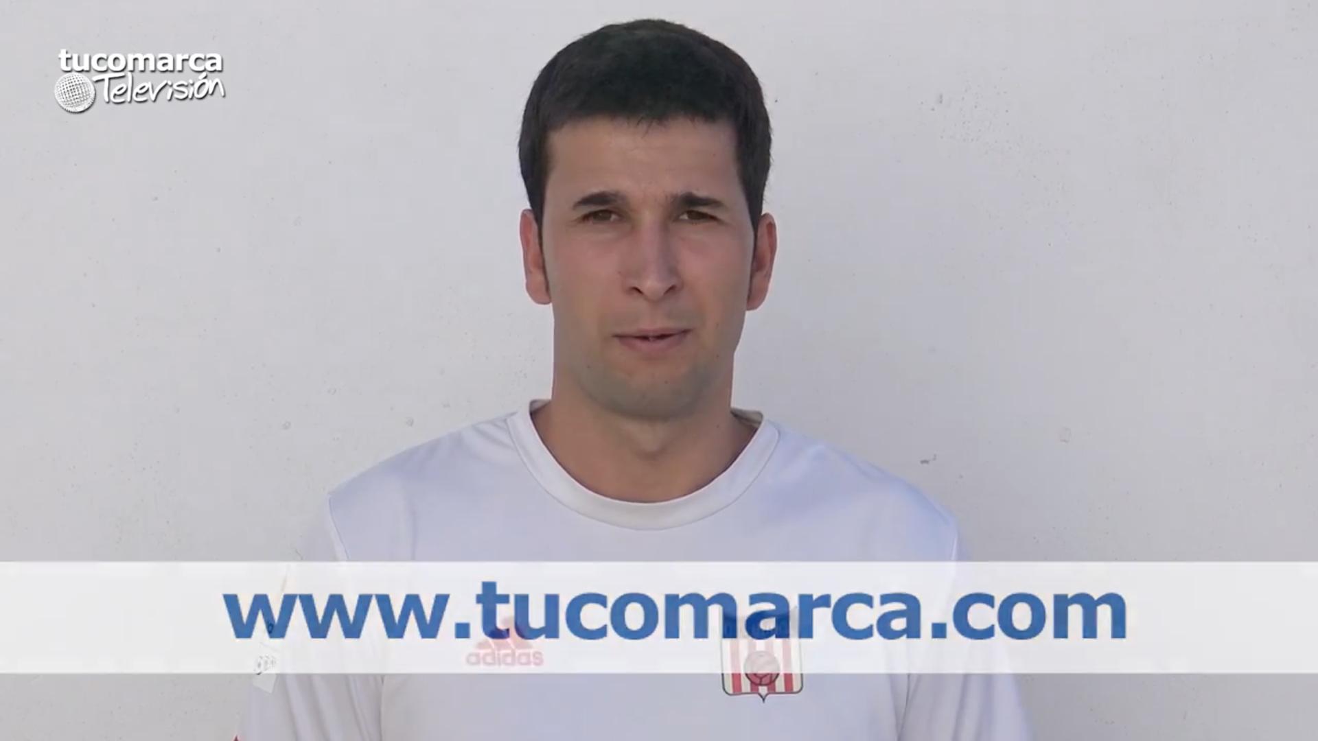 El capitán del Club Deportivo Buñol, Godo.
