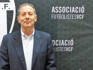 El ex jugador del Valencia Club de Fútbol, Javier Subirats.