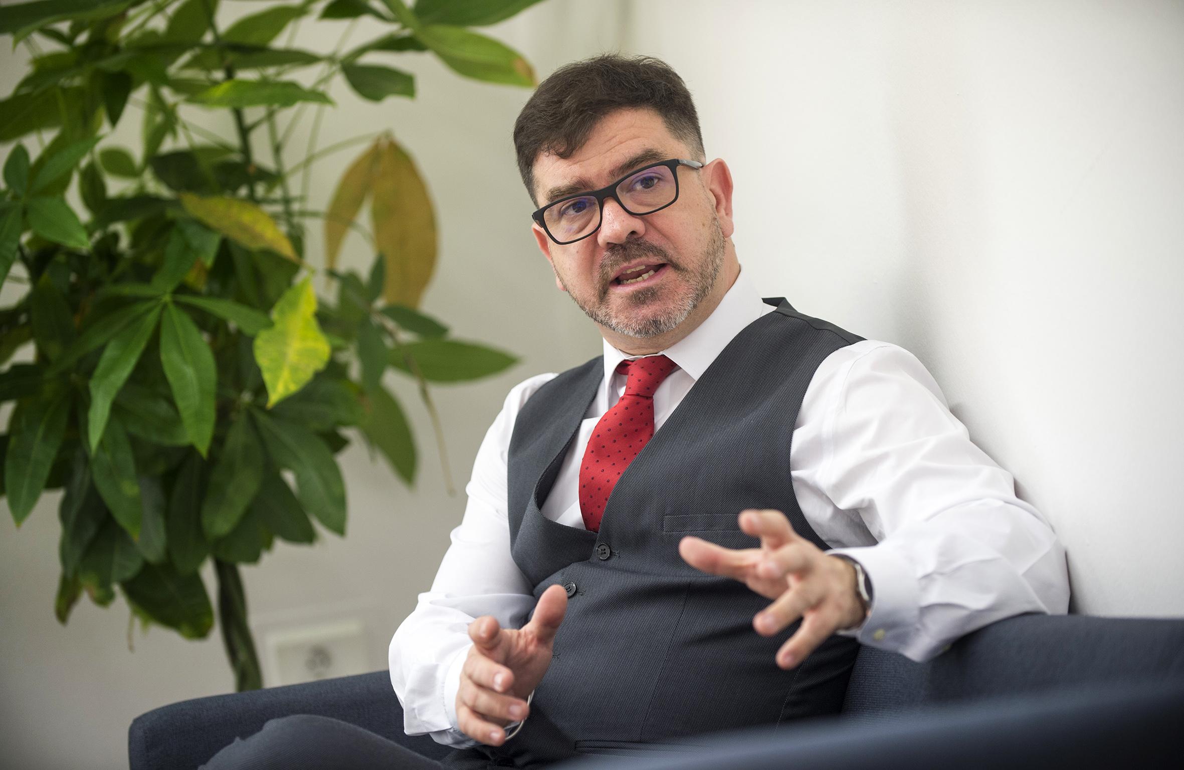 Emili Altur, diputat de Cooperació Municipal i responsable de l'àrea de Promoció Econòmica, Innovació i Projectes de Formació de Divalterra.