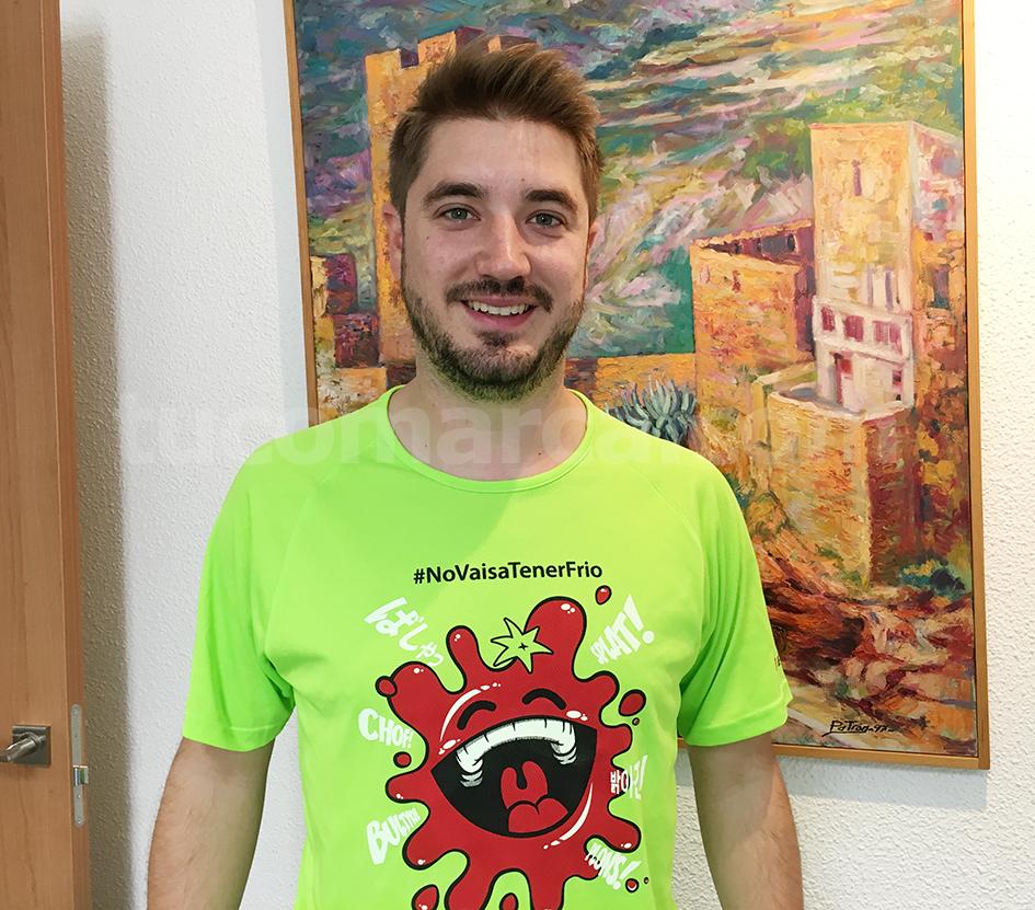El máximo responsable de la fiesta de La Tomatina de Buñol, Rafa Pérez.