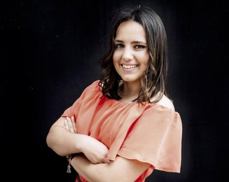 La Reina de la XLIV Fiesta de La Vendimia, María Andrés Carmona.