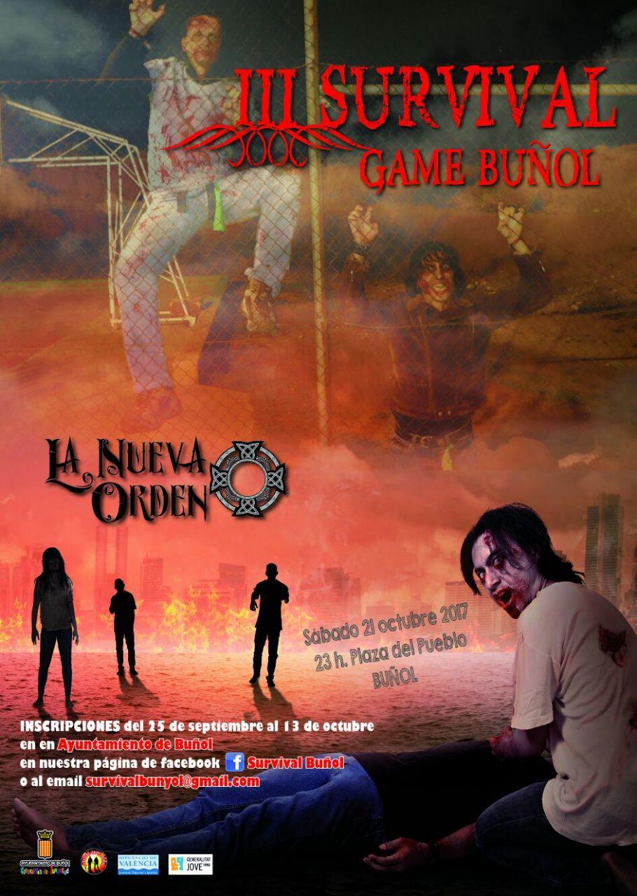 Además del III Survival Game, la tarde del 31 de octubre volverá a celebrarse el divertido II Survival Infantil.